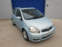 TOYOTA YARIS 1.3 VVT-i T SPIRIT AUTO 5 doors**TWO PREVIOUS OWNER**SERVICE HISTORY**DRIVES PERFECT**