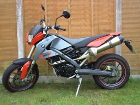 BMW G650 X-Moto, Super-moto style Rare bike, just serviced, excellent condition.