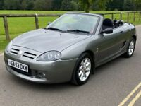 MG MG TF Sports 1.6 convertible. Low mileage 73,000 miles. Cheap car