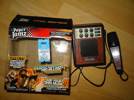 Paper Jamz Pro Series Microphone and Effects Amp Bonus USB Download Songs