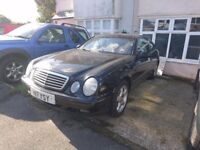 Mercedes CLK230 Kompressor black