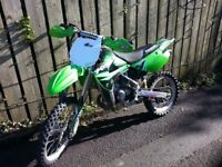 2014 kx 85 big wheel . Bikes still like new and really tidy . Im looking a bigger bike so selling is