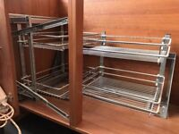 Heavy Duty Pull Out Set-Up for Corner Unit