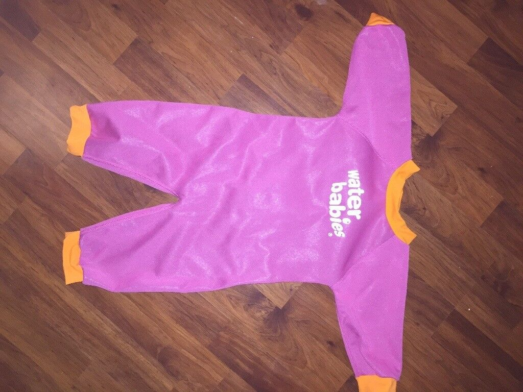 Baby wetsuit with fleece lining