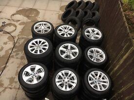 Alloys wheels(Bmw,Audi,Seat,Skoda,VW,Mercedes,Volvo)