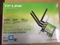 TP-LINK N900 WIRELESS DUALBAND PCI EXPRESS ADAPTOR