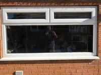uPVC Double Glazed Window- Like New