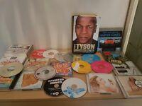 Cds, dvds, books bundle