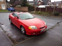 HYUNDAI COUPE 2.0 SE AUTOMATIC RED.
