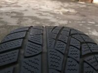 4 Pirelli Sottozero winter tyres 245 45 17 full Set MO Mercedes-Benz Original