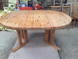 Pine Dining Table,