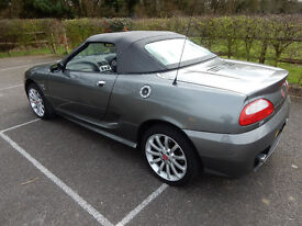 One lady owner from new, additional hard top, alcantara/leather seats, optional spoiler, 9 mnths MOT