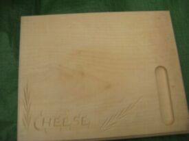 Solid Wood Cheeseboard/Cutting Board for £3.00
