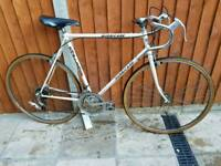 Retro road racer touring bike bicycle