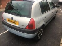 Renault Clio 2001 cheap £295ono