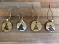 Hand made christmas decorations