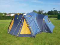 Relum Khios Metallica, family tent; very good condition