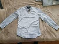 Mens Slim Fit Shirt New TOPMAN