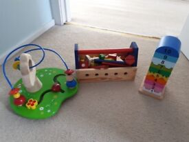 Wooden toy bundle