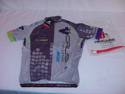 Nwt Hincapie Jersey Amgen Crush Challenge Axis Rs Short Sleeve Size Mens Small