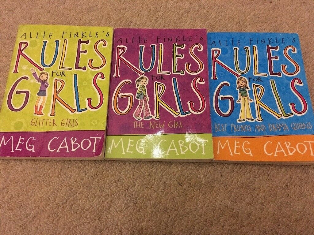 3 Rules for Girls books
