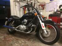 2007 Honda shadow 125 with under 6000 miles