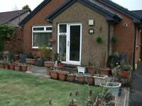 Ensuite double room IN BUNGALOW- with WiFi and TV. USE OF MODERN KITCHEN AND LIVINGROOM