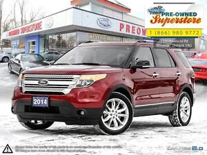 2014 Ford Explorer XLT>>>NAV, leather, sunroof<<<