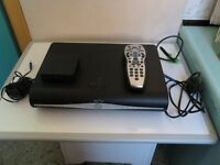 A NICE SLIM SKY PLUS + HD BOX 500GB SKY DRX890-R PLUS REMOTE AND WIRELESS ROUTER SC201, MINT
