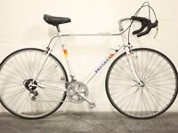 Vintage Men's & Ladies Racing Road Bikes - PEUGEOT & RALEIGH - Restored w/ New Parts - 80s 90s Racer