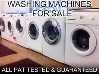 BRANDED WASHERS and WASHER DRYERS FOR SALE in Derby + with 3 Months Guarantee + FREE LOCAL DELIVERY