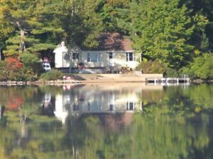 Cottage Lake Rental on Beautiful Trout Lake in Annapolis Valley
