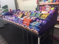 Cadbury display rack (brand new)