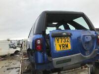 Land Rover freelander Jeep petrol diesel spare parts