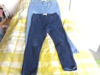 Jeggingsx2 skinny leg.Size14