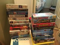 VHS Tapes - Disney, Star Wars, Comedy, etc