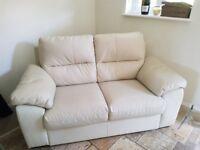 Cream 2 Seater Ikea Sofa