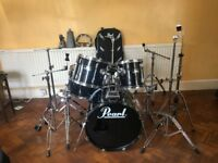 Pearl Export Kit with Hardware, Carry Cases and Extras