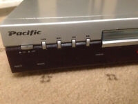 Pacific DVD-Player, All sorts of Dvd/Cd/Mp3 Player. In Used But Good Condition Without Remote