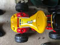 Go cart powered by 12v battery
