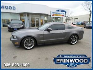 2011 Ford Mustang GT - 5.0L V8/6SPD MANUAL/LTHR/REV CAM