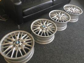 BMW 18inch alloys