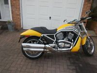 harley davidson vrod vrsca 2005 model with 4300 miles