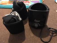 Tommee tippee bottle warmer and thermal bags