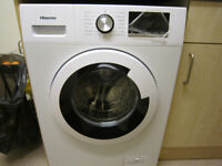 HISENSE,6KG,1200SPIN,WHITE WASHING MACHINE,NEARLY NEW CON,15 MONTHS OLD,FULLY WORKING