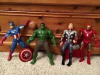 Disney Store Marvel Avengers Talking Action Figures