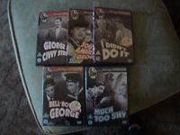 Bundle of 5 Dvds by GEORGE FORMBY all in Very Good Condition