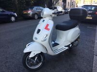 PIAGGIO VESPA LX 125cc is 3v white 13 plate hpi clear!!