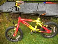 "Boys Bike - 14"" wheels - great condition"