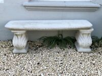 Beautiful Classic Stone Bench - Will last decades (Buyer Collects) £125 ono reduced - bargain price!